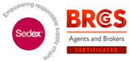 SEDEX, BRC members - Bowlander Ingredients for perfection