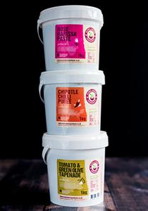 Bowlander Foodservice spice pastes and purees