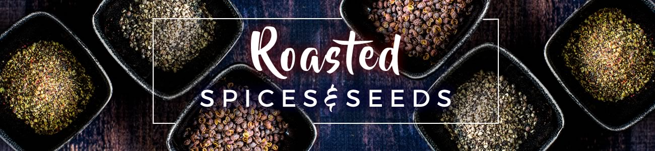 Roasted spices and seeds from Bowlander