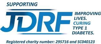 Bowlander supporting JDRF. The charity improving lives for those with Type 1 diabetes.